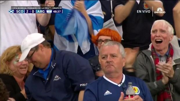 [TLMD - NATL] Jenny Beattie marca el segundo gol para Escocia ante la Argentina
