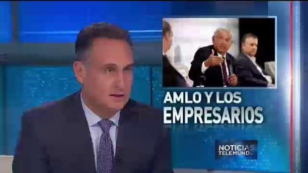 Empresarios mexicanos piden que no voten por AMLO