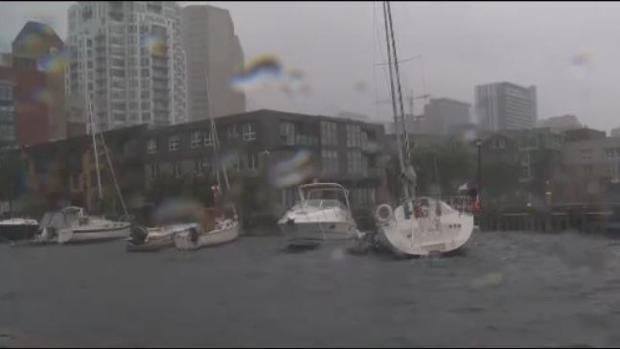 [TLMD - LV] En imágenes: fuertes lluvias y vientos dejan caos en Canada