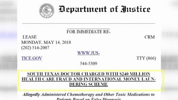 [TLMD - McAllen] FBI continúa investigando a médico acusado de fraude