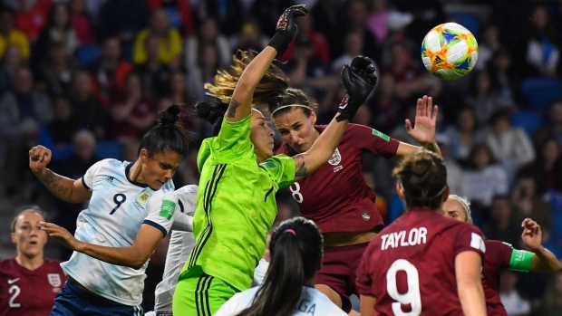 [WWC 2019] Vanina Correa: la mano de Dios argentina contra Inglaterra