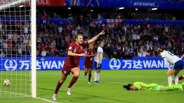 [WWC 2019] Inglaterra le propina a Argentina su primera derrota en el Mundial Femenil