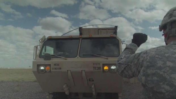[TLMD - McAllen] Militares instalan campamento por puente de Donna