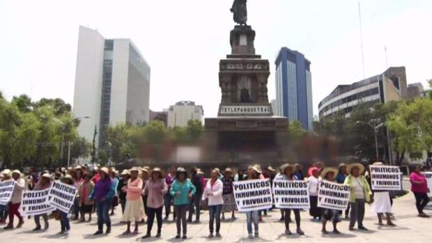 Protestas a un día de las elecciones
