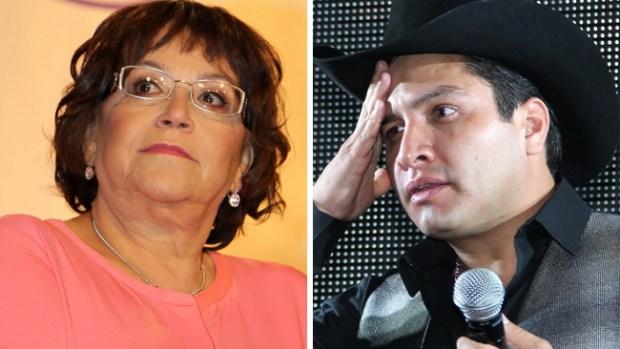 Doña Rosa Rivera defiende a Julión Álvarez