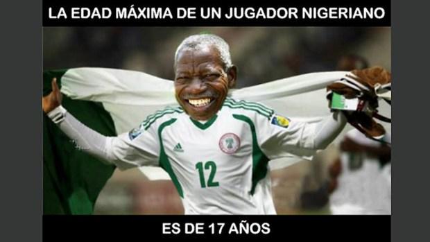 Los memes de México vs Nigeria