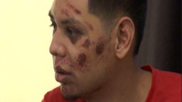 Fotos: Brutal golpiza en Mission