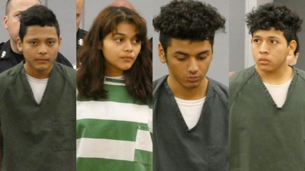 Van a corte presuntos miembros de la MS-13