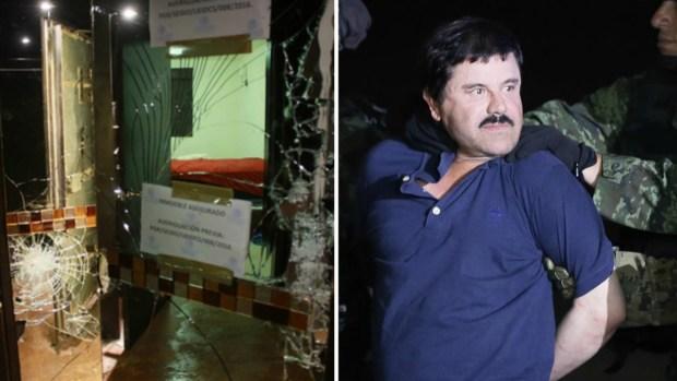 """Fotos: recorrido por el escondite de """"El Chapo"""""""