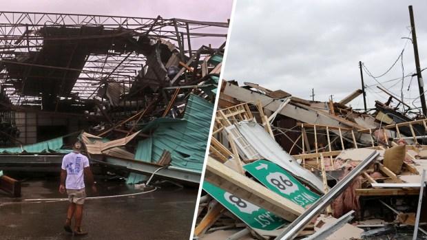 El día después: muerte y destrucción por la tormenta Michael