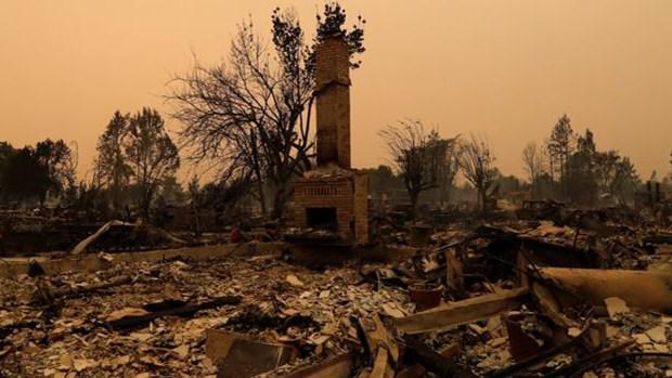 Incendios forestales de California durante 2017