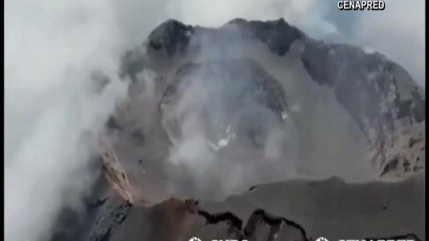 El temible volcán Popocatépetl, como nunca lo viste