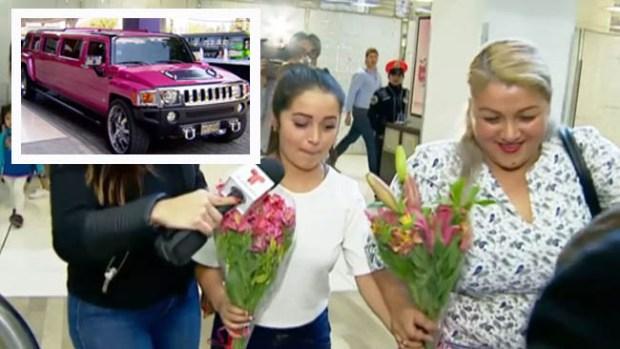 Como a una diva reciben a Rubí en la Ciudad de México