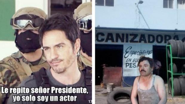 """Memes de la tercera captura de """"El Chapo"""""""