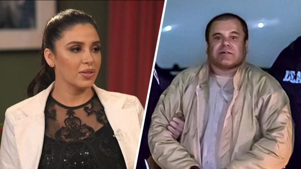 """Así reaccionó la esposa de """"El Chapo"""" al oír el veredicto"""