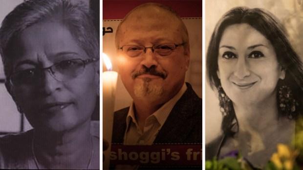 Asesinatos de periodistas en venganza por su trabajo se doblan en 2018