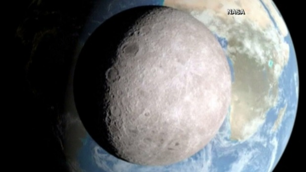 Video: NASA presenta la cara oculta de la Luna