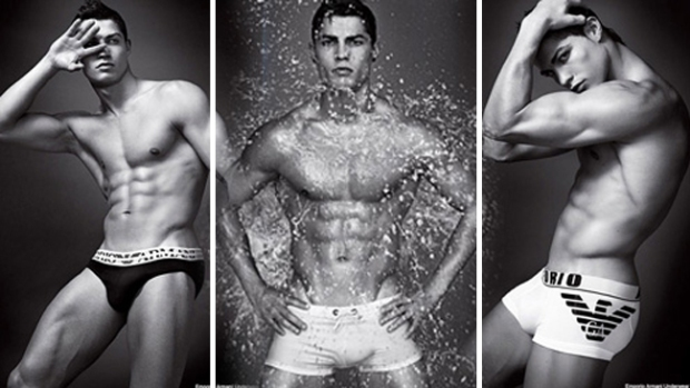 Cristiano Ronaldo, puro talento y cuerpazo