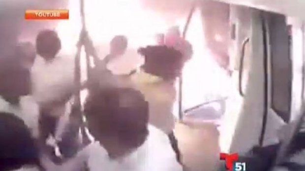 Video: El vagón de metro que vio el infierno