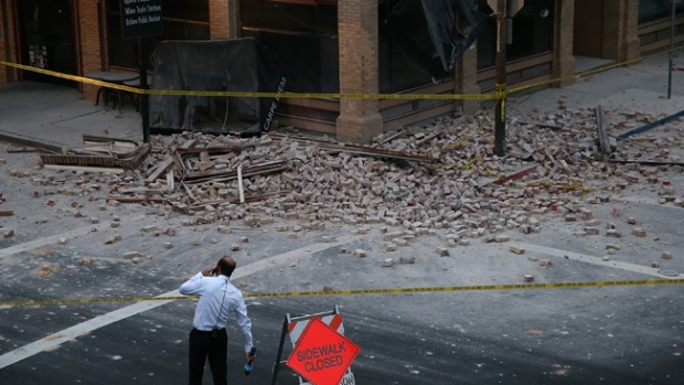Video: Daños y heridos tras sismo en California
