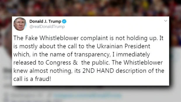 [TLMD - LV] Trump acusa de fraude a informante y de traición a legislador demócrata