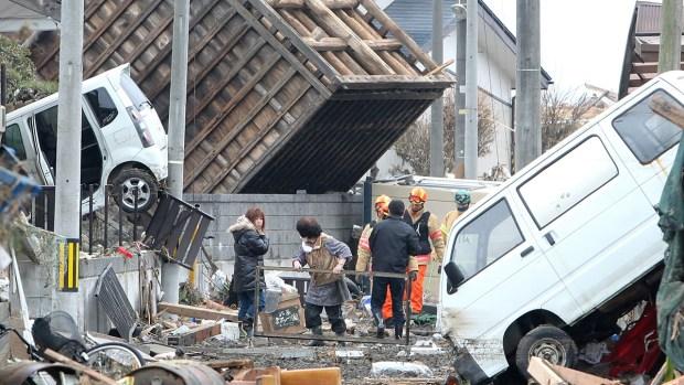 El horror del tsunami en Japón seis años después