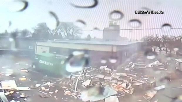 [TLMD - LV] Captado en video: explosión de food truck