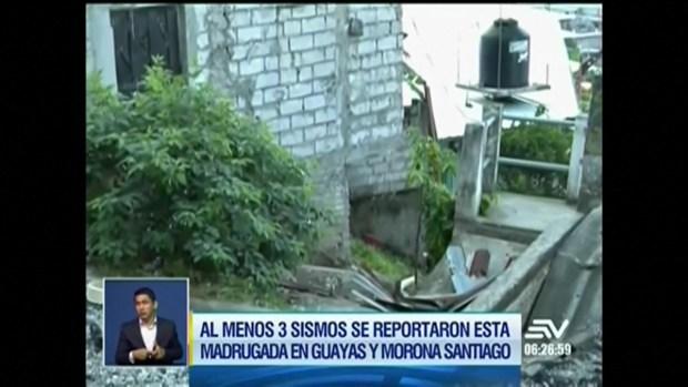 [TLMD - LV] Fuerte terremoto remece el sur de Ecuador