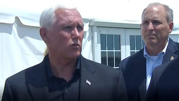 [TLMD - McAllen] Vicepresidente Pence habla sobre trato de inmigrantes en Donna
