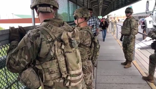 Militarización de la frontera: Las primeras misiones de los soldados