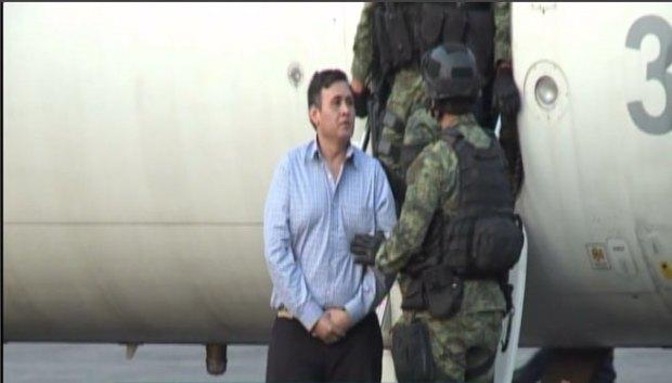 Casa donde capturaron a líder de Los Zetas