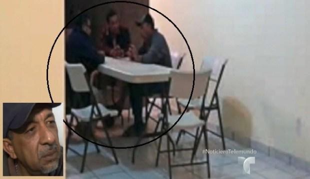 """¿Reporteros de Televisa y Esquema con """"La Tuta""""?"""