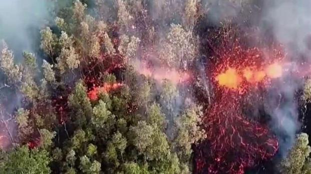 [TLMD - MIA] Científicos identifican 19 brotes de lava de volcán en Hawái