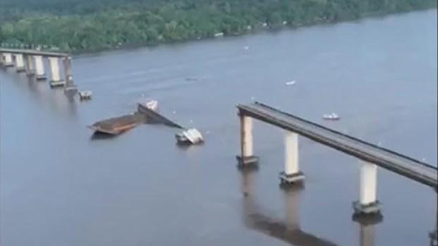 [TLMD - NATL] Video: así queda puente al norte de Brasil tras colapso