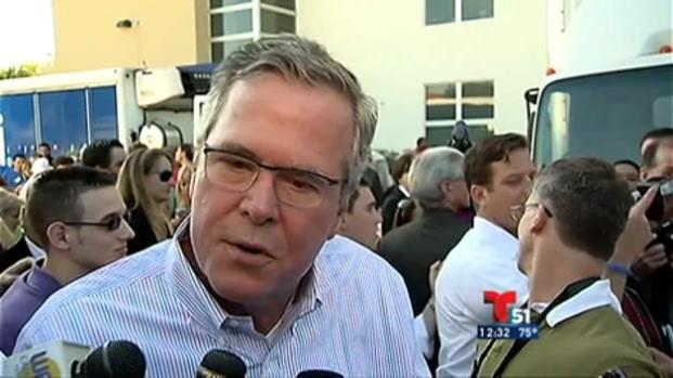 Jeb Bush escéptico ante cambio con Cuba