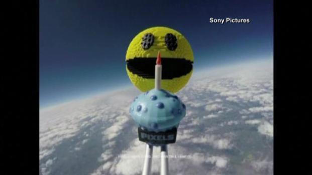 Pac-man celebra en el espacio