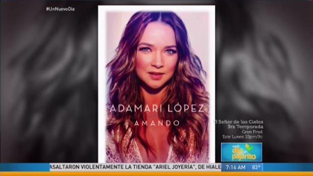 "Adamari López lanzará libro ""Amando"""