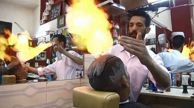 [TLMD - NATL] Barberos de fuego...y su técnica que hace furor