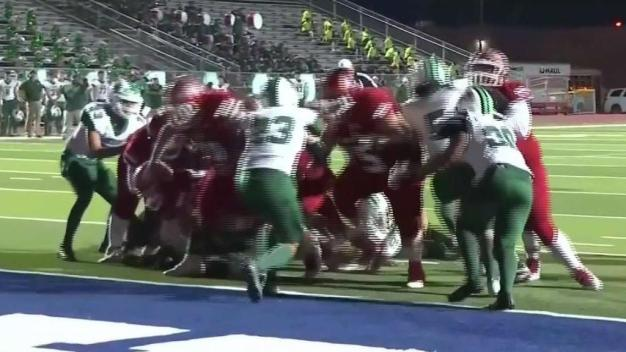 Arrancan los partidos de eliminación en el fútbol americano escolar