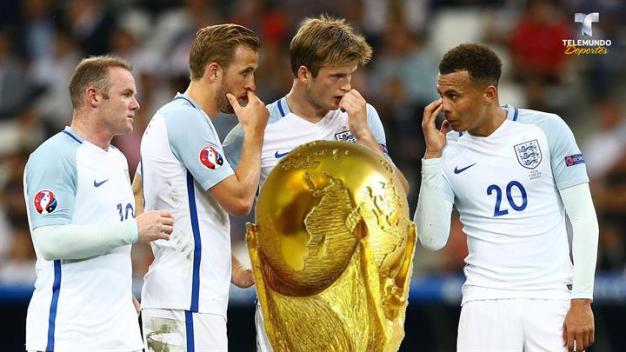 La teoría que da a Inglaterra como campeón del mundo