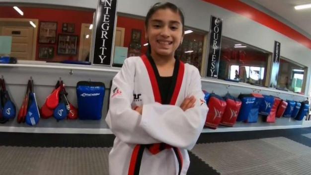 Paola Teran participara en el mundial de Taekwondo