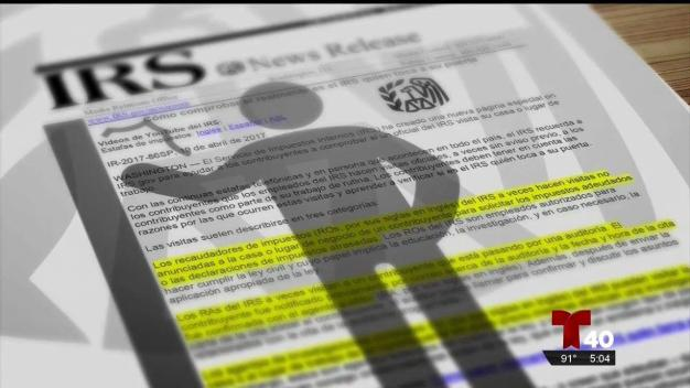 ¿Puede un agente del IRS ir a su casa para gestiones sobre su caso?