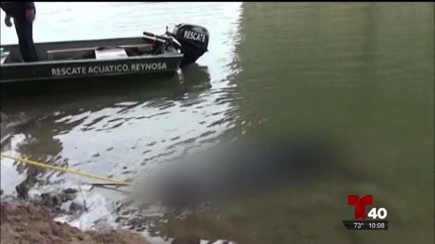 Recuperan ocho cadáveres del Río Bravo en lo que va del 2018