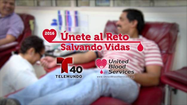 Donación de sangre que salva vidas en el Valle de Texas