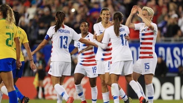 EEUU cierra con triunfo la SheBelieves Cup