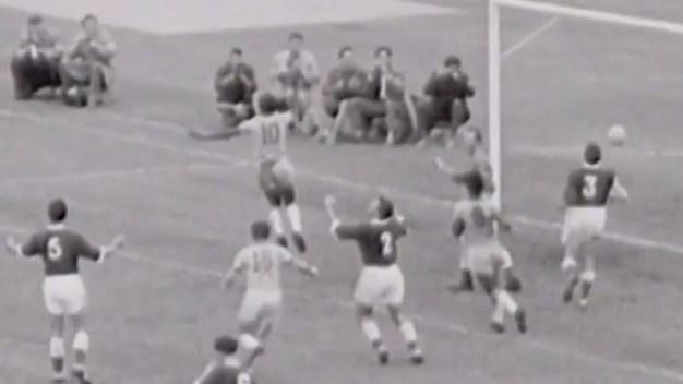 El día que Pelé debutó en un Mundial