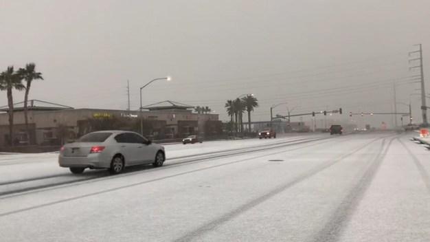 Recomendaciones para cuando nieva en Las Vegas