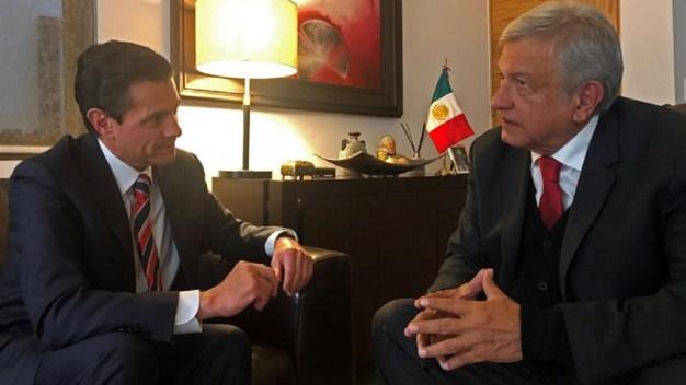 López Obrador invita a su casa a Peña Nieto
