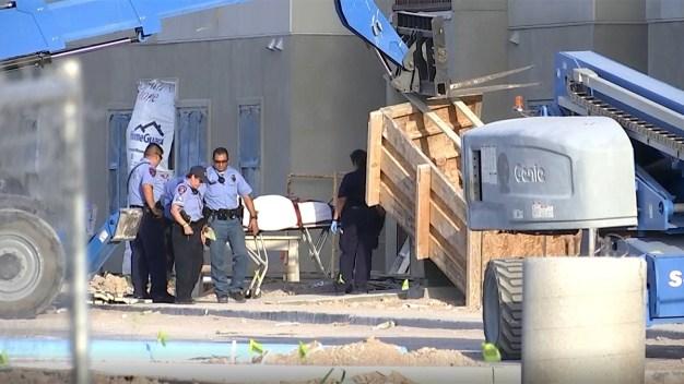Identifican a hombre que murió en zona de construcción