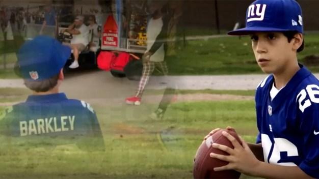 Aficionado de los Giants recibe sorpresa tras video viral